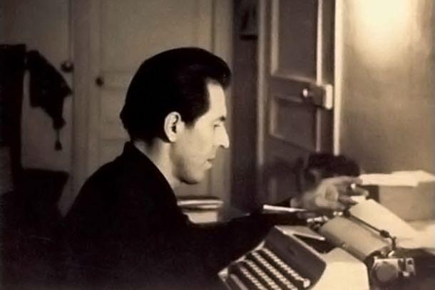 Julio Ramón Ribeyro, en la imagen de cubierta de «La tentación del fracaso».