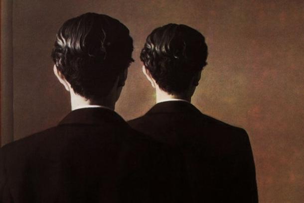 Detalle de la obra «La reproduction interdite» (1937), de René Magritte (Museo Boijmans Van Beuningen).
