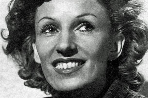 Lale Andersen, primera intérprete de «Lili Marleen» (Imagen: eurovision.de).